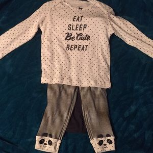Carters baby girl outfit
